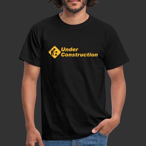 geek underconstruction - T-shirt herr
