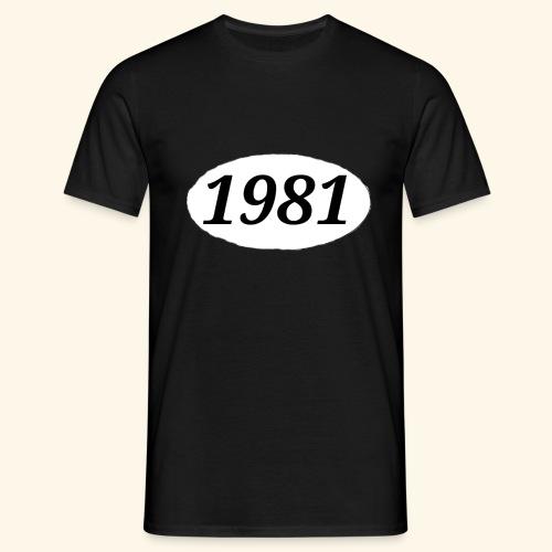 1981 - Männer T-Shirt