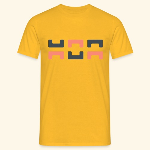Angry elephant - Men's T-Shirt