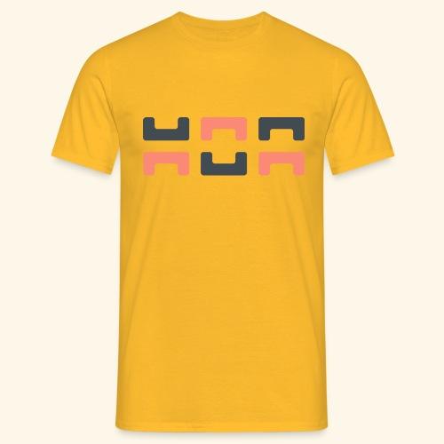 Bezier Elephant, by Hoa - Men's T-Shirt