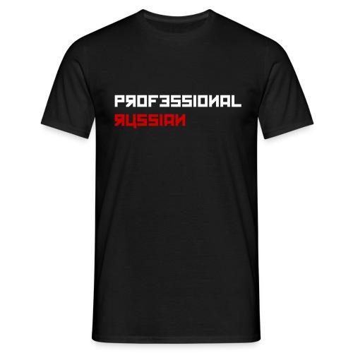 Professional Russian Blue - Mannen T-shirt
