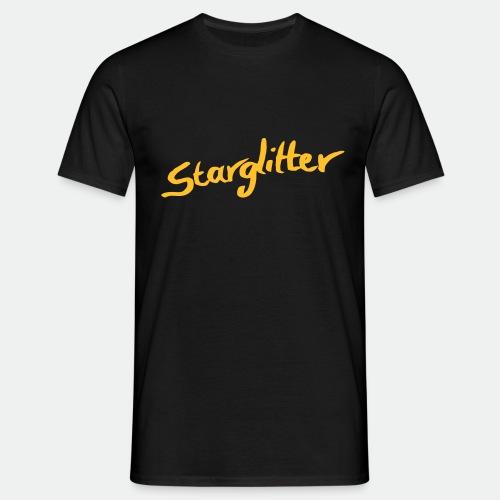 Starglitter - Lettering - Men's T-Shirt