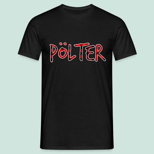 Pölter Karo Muster - Männer T-Shirt
