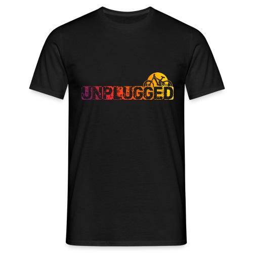 Unplugged Sundown - Männer T-Shirt