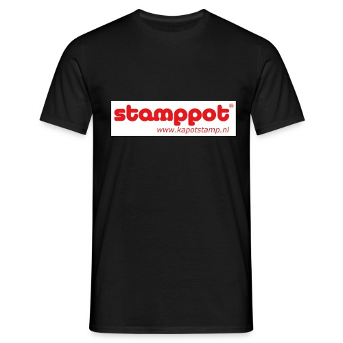 STAMPPOT white background - Mannen T-shirt