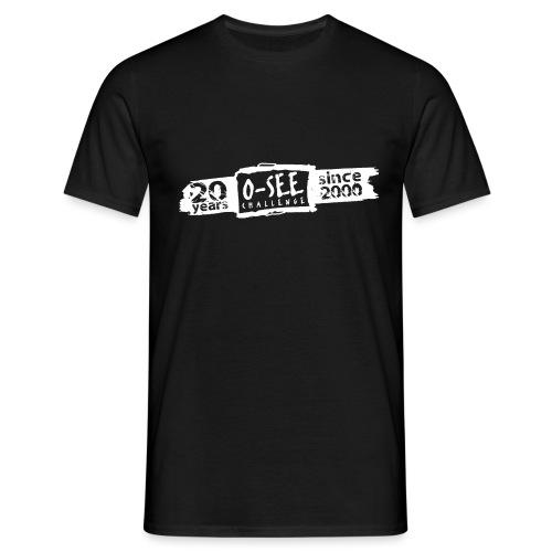 O-SEE Challenge 2020 weiss - Männer T-Shirt