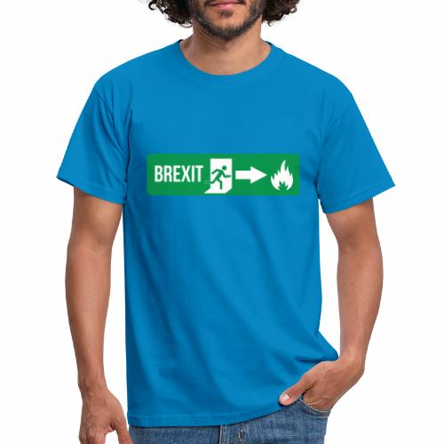 Fire Brexit - Men's T-Shirt