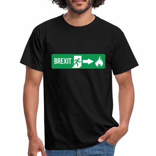 Fire Brexit - Men's T-Shirt
