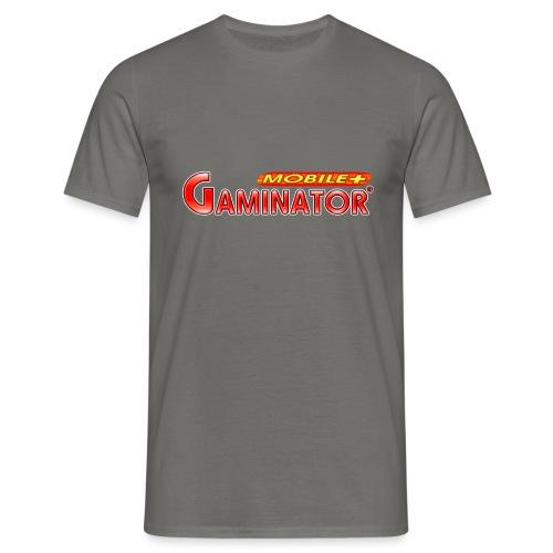 Gaminator logo - Men's T-Shirt