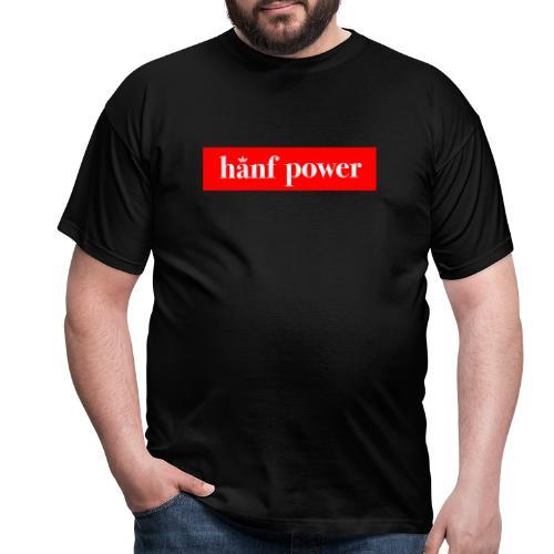 Hanf Power RED - Männer T-Shirt