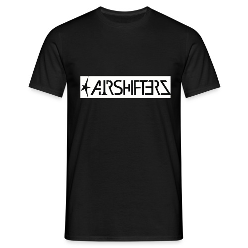Airshifterz Black - Männer T-Shirt