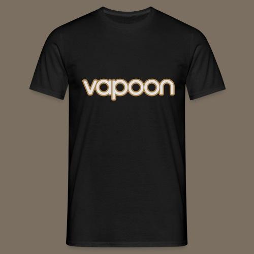 Vapoon Logo simpel 2 Farb - Männer T-Shirt