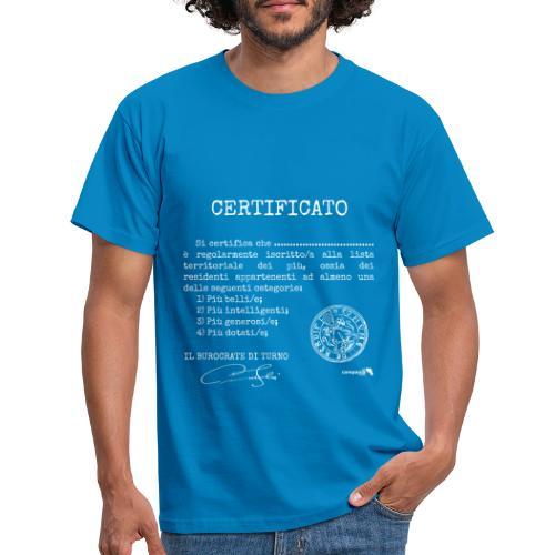 1.07 Certificato Piu Adulti B (Aggiungi nome) - Maglietta da uomo