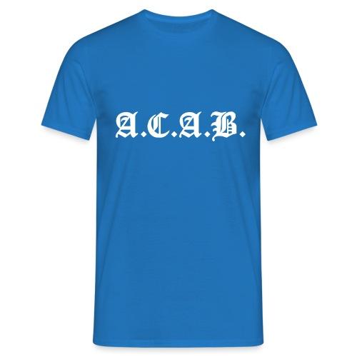 A.C.A.B. - Miesten t-paita