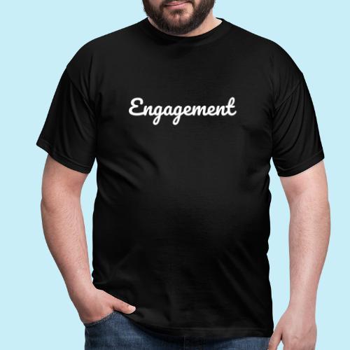 engagement - T-shirt Homme