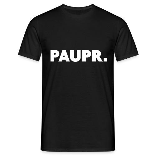 PAUPR. - Mannen T-shirt