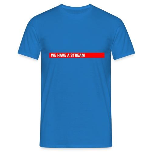 Stream Logo Gross - Männer T-Shirt