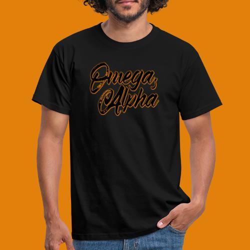 Omega's Alpha - Männer T-Shirt