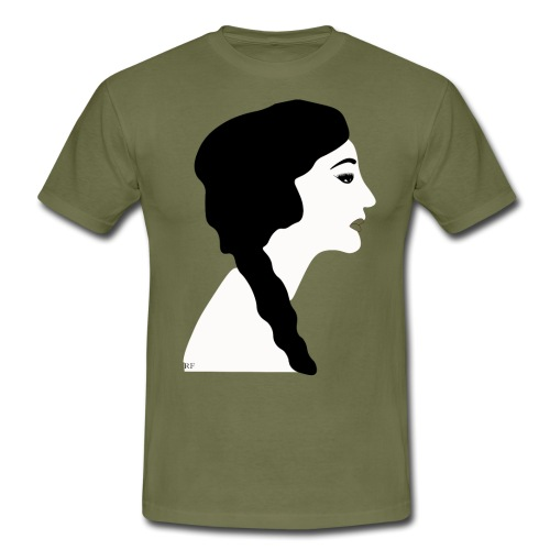 Simple Lady - Herre-T-shirt