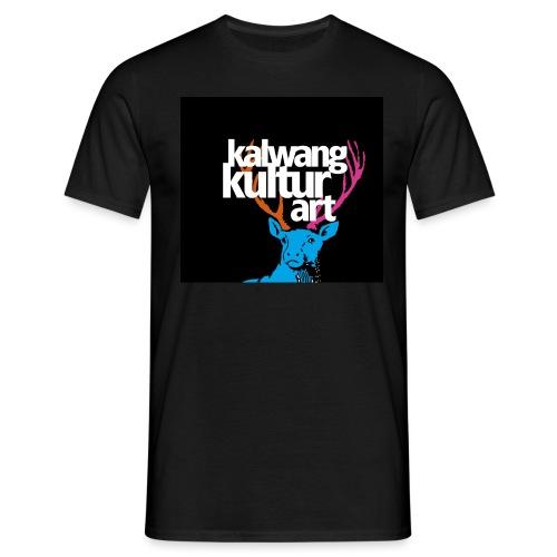 Logo Kalwang Kultur - Männer T-Shirt