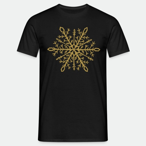 Snowflake mandala - Men's T-Shirt