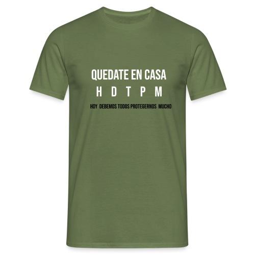#QUÉDATE EN CASA - Camiseta hombre