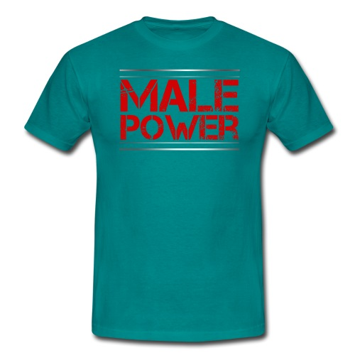 Sport - Male Power - Männer T-Shirt