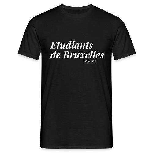Etudiants de Bruxelles Blanc - T-shirt Homme