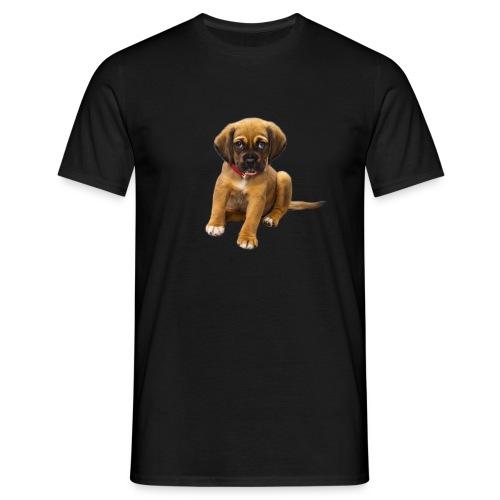 Süsses Haustier Welpe - Männer T-Shirt
