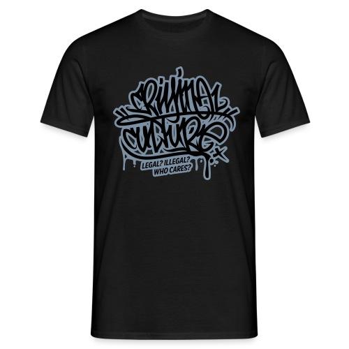 Criminal Culture - Männer T-Shirt