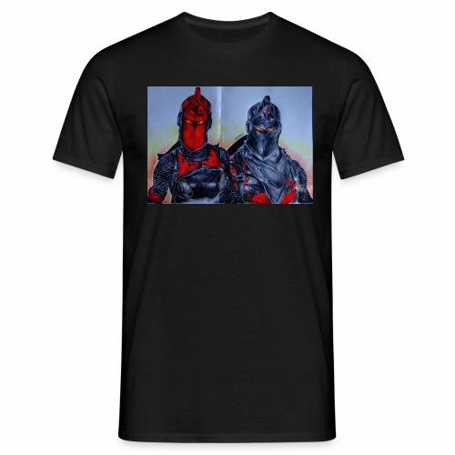 Selbstzeichnung - Männer T-Shirt