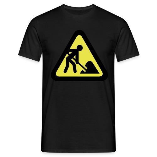 Baustelle - Männer T-Shirt