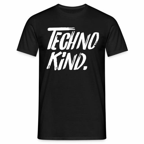 Techno Kind Raver Familie Afterhour Musik DJ Liebe - Männer T-Shirt