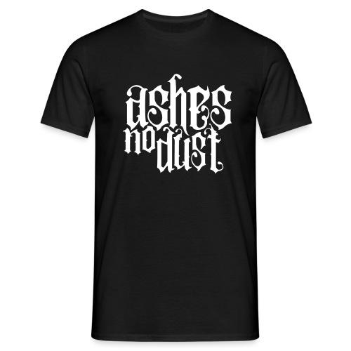 White logo Ashes No Dust - T-shirt Homme