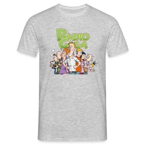 Radio Gaga-redaksjonen - T-skjorte for menn