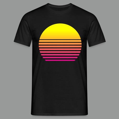 80s Sun - Männer T-Shirt
