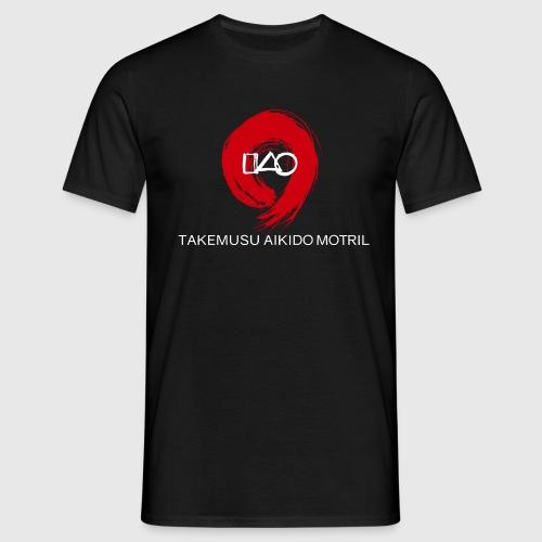 Takemusu Aikido Motril - Red Enso - Men's T-Shirt