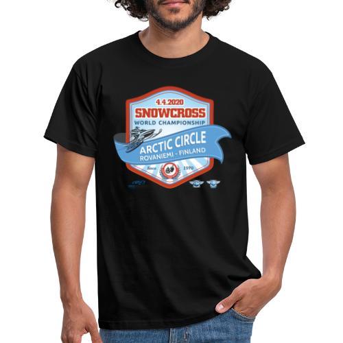 MM Snowcross 2020 virallinen fanituote - Miesten t-paita