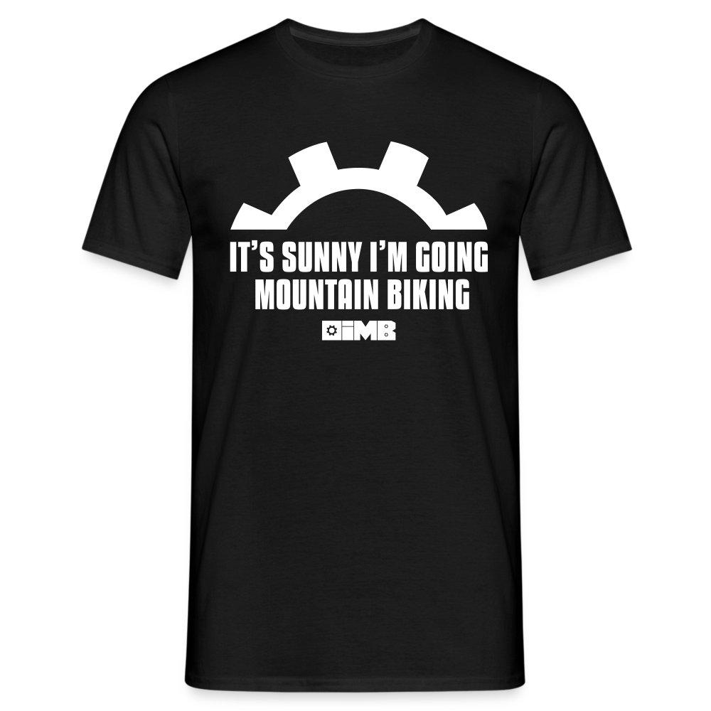 It's Sunny I'm Going Mountain Biking - Men's T-Shirt - khaki green