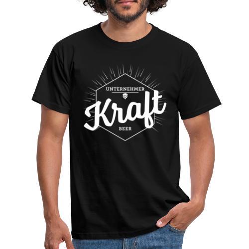Unternehmerkraftbeer weiss - Männer T-Shirt