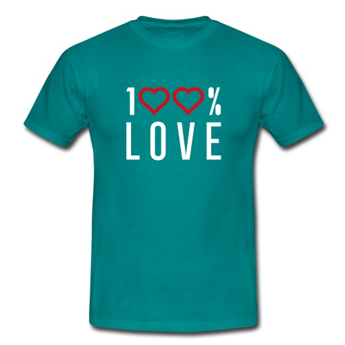 100 LOVE - Men's T-Shirt