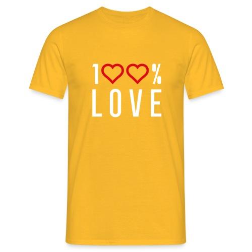 100 LOVE - Men's T-Shirt