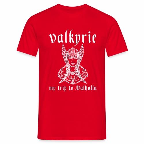 Valkyrie to Valhalla - Camiseta hombre