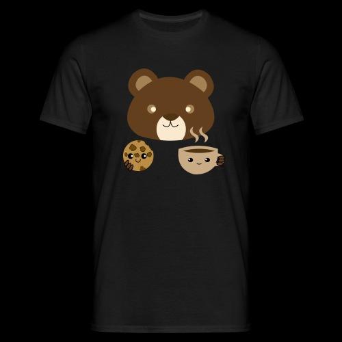 Oso Merendando - Camiseta hombre