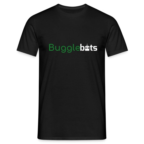 Bugglebots Black Clothing & Accessories - Men's T-Shirt