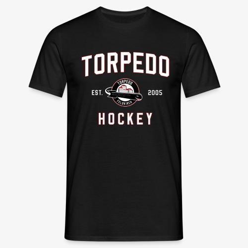 torpedo hockey - Männer T-Shirt