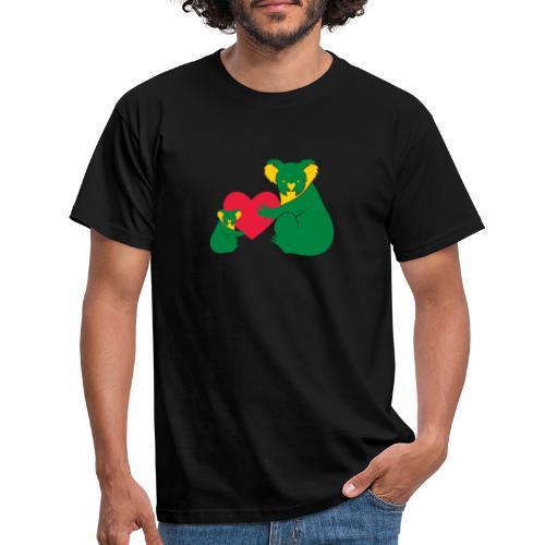 Koala Heart Baby - Men's T-Shirt