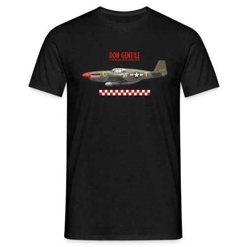 P-51 Mustang Shangri-La - Men's T-Shirt