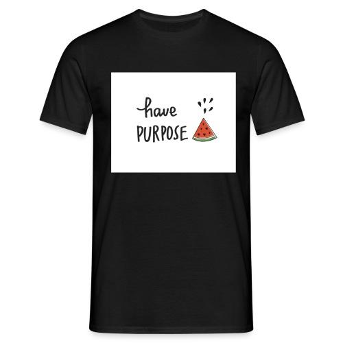 Purpose - Men's T-Shirt
