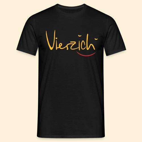 Vierzich - Männer T-Shirt